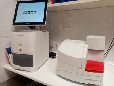 Laboratorio de hematología y bioquímica
